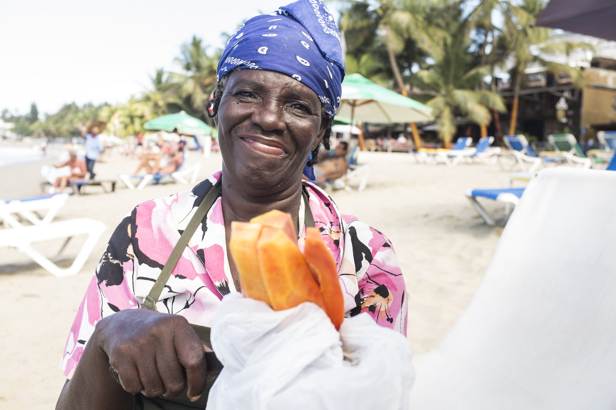 Cabarete Icon: Ana the fruit lady
