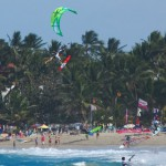 Kitesurfing in Cabarete Bay 2009