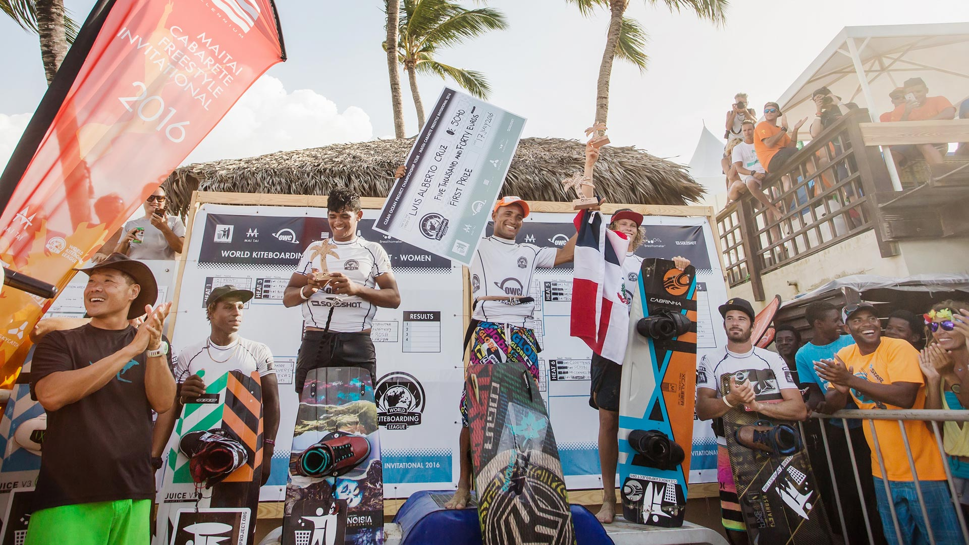 World Kiteboarding League Cabarete