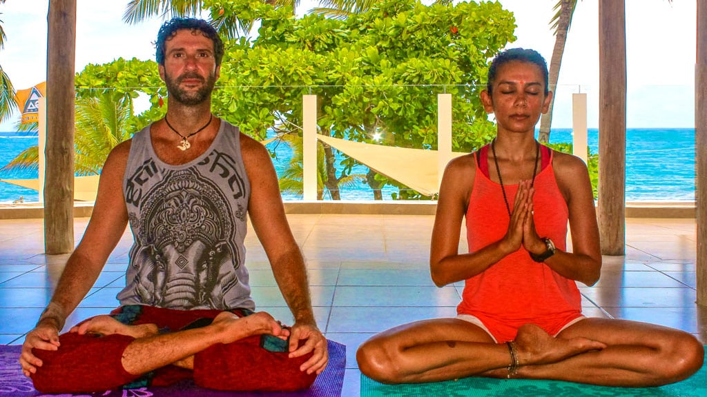 Sunset Yoga in Cabarete