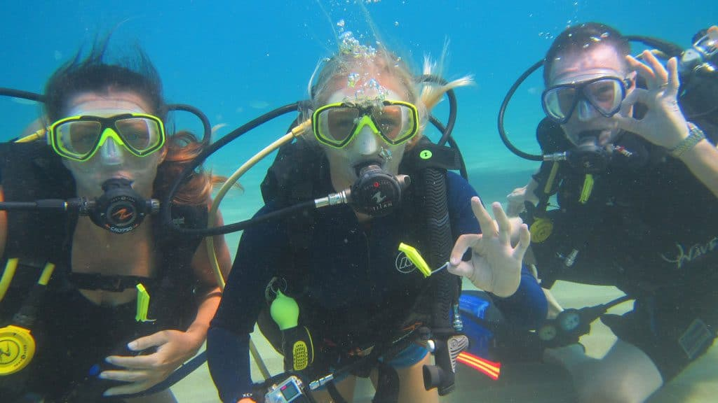 Diving Near Cabarete
